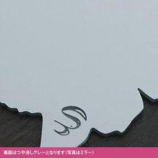 画像6: 壁掛シルエットミラー(うさぎたれ耳) 大 (6)