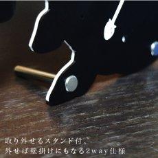画像13: 【フルオーダー】『うちの子』シルエット時計 (13)