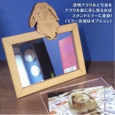 画像14: インコのチャーム付き フォトフレーム<バードケージ> Woody Line (14)