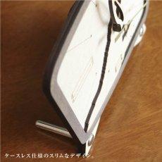 画像3: お耳が動くうさぎの時計 XING design 置き時計  Woody Line (3)