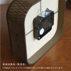 画像6: お耳が動くうさぎの時計 XING design  置き掛け2way Woody Line (6)