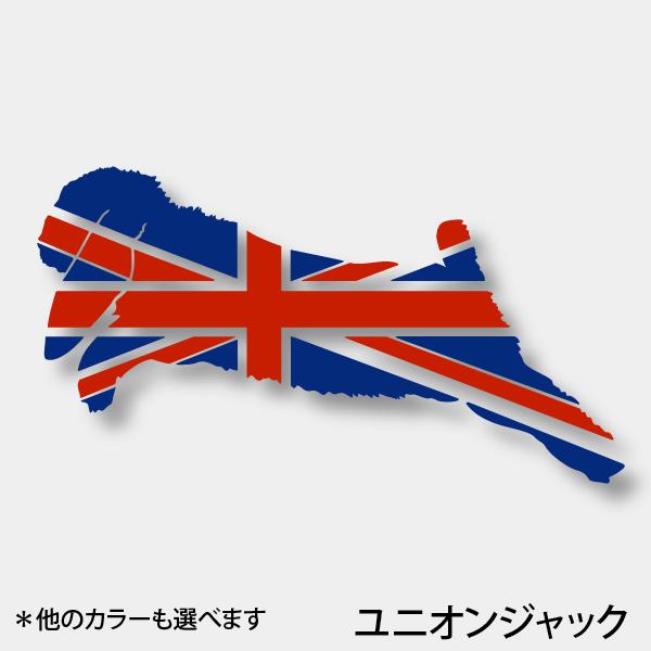 画像1: 《Flags CS》ステッカー ロップジャンプ(ユニオンジャック)S/M (1)